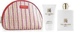 Парфюми, Парфюмерия, козметика Trussardi Donna Trussardi 2011 - Комплект (парф. вода/100ml + лосион за тяло/100ml + несесер)