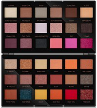 Парфюми, Парфюмерия, козметика Палитра сенки за очи - Makeup Revolution X Petra 36 Shade Eyeshadow Palette
