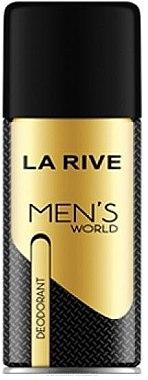La Rive Men's World - Дезодорант — снимка N1