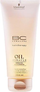 Шампоан с масло от марула - Schwarzkopf Professional BC Oil Miracle Shampoo