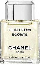 Парфюмерия и Козметика Chanel Egoiste Platinum - Тоалетна вода (тестер с капачка)