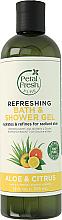 Парфюмерия и Козметика Освежаващ гел за душ и вана с алое и цитруси - Petal Fresh Pure Refreshing Bath & Shower Gel Aloe & Citrus