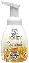 Парфюмерия и Козметика Пенещ се сапун за ръце с мед и овес - Australian Gold Foaming Hand Soap Honey and Oats