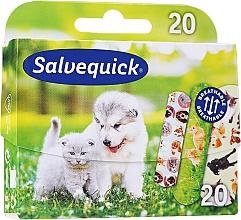Парфюмерия и Козметика Детски пластири - Salvequick Animal Planet