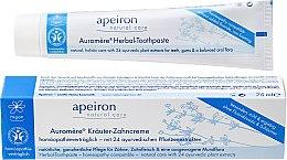 Парфюми, Парфюмерия, козметика Хомеопатична паста за зъби - Apeiron Herbal Toothpaste Homeopathic