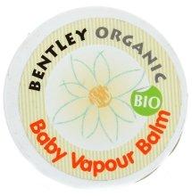 Парфюмерия и Козметика Загряващ балсам за деца - Bentley Organic Baby Vapour Balm