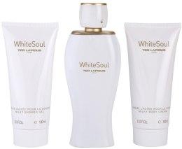 Парфюми, Парфюмерия, козметика Ted Lapidus White Soul - Комплект (парф. вода/100ml + крем за тяло/100ml + душ гел/100ml)