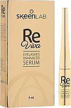 Парфюмерия и Козметика Серум за растеж на мигли - Skeenlab ReViva Eyelash Enhanced Serum