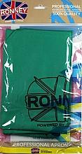 Парфюмерия и Козметика Фризьорска престилка, зелена - Ronney Professional Hairdressing Apron Green