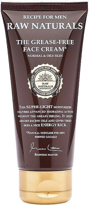 Хидратиращ крем за мъже - Recipe For Men RAW Naturals The Grease-Free Face Cream — снимка N1