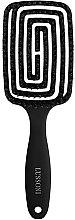 Парфюми, Парфюмерия, козметика Четка за коса - Lussoni Labyrinth Large Natural Hair Brush