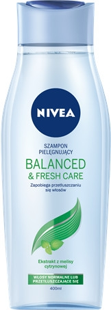 "Шампоан ""Тонизиращ ефект"" - Nivea Hair Balanced&Fresh Care Shampoo"