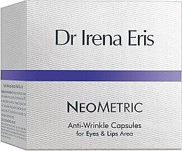 Парфюми, Парфюмерия, козметика Капсули против бръчки за контура на очите и устните - Dr Irena Eris Anti-Wrinkle Capsules for Eyes and Lips Area