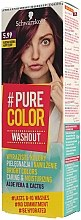 Парфюмерия и Козметика Тонираща гел-боя за коса без смесване - Schwarzkopf Pure Color Washout