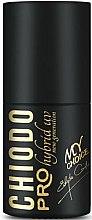 Парфюми, Парфюмерия, козметика Хибриден лак за нокти - Chiodo Pro Black & White Style