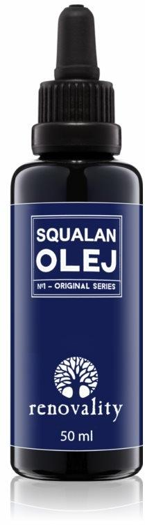 Масло от захарна тръстика за лице, тяло и коса - Renovality Original Series Squalan Oil — снимка N1