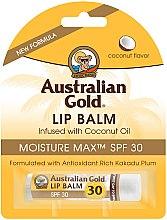Парфюмерия и Козметика Балсам за устни с кокос - Australian Gold Lip Balm Infused With Coconut Oil SPF 30