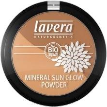 Парфюмерия и Козметика Двойна минерална пудра за лице - Lavera Mineral Sun Glow Powder (01-Golden Rose)