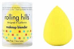 Парфюмерия и Козметика Гъба за грим, жълта - Rolling Hills Makeup Blender Dark Yellow