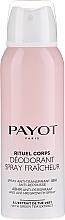 Парфюмерия и Козметика Спрей дезодорант - Payot Rituel Corps 48H Antiperspirant Alcohol Free