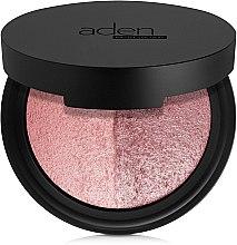 Парфюмерия и Козметика Двуцветен руж за лице - Aden Cosmetics Blusher Duo