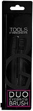 Парфюми, Парфюмерия, козметика Двустранна четка за мигли и вежди - Gabriella Salvete Duo Eyebrow Brush