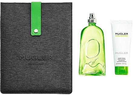 Mugler Cologne Mugler - Комплект (тоал. вода/300ml + душ гел/100ml + калъф за iPad/1) — снимка N1