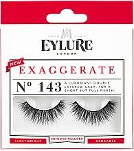Парфюмерия и Козметика Изкуствени мигли №143 - Eylure Pre-Glued Exagerrate