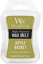Парфюмерия и Козметика Ароматен восък - WoodWick Wax Melt Apple Basket