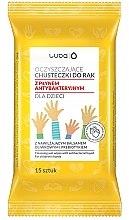 Парфюми, Парфюмерия, козметика Мокри антибактериални кърпички за деца - Luba