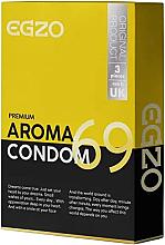 """Парфюмерия и Козметика Презервативи, ароматизирани """"Aroma"""" - Egzo"""