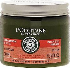 """Парфюмерия и Козметика Маска за коса """"Интензивно възстановяване"""" - L'Occitane Aromachologie Repairing Mask"""
