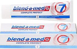Парфюмерия и Козметика Паста за зъби - Blend-a-med Complete Protect 7 Original