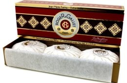 "Комплект от три парфюмни сапуна ""Жан Мари Фарина"" - Roger & Gallet Jean Marie Farina Perfumed Soaps (soap/3х100g ) — снимка N2"
