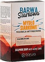 Парфюмерия и Козметика Специализиран сапун със сяра против акне - Barwa Anti-Acne Sulfuric Soap