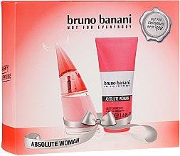 Парфюмерия и Козметика Bruno Banani Absolute Woman - Комплект (тоал. вода/20ml + душ гел/50ml)