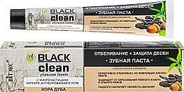 """Парфюми, Парфюмерия, козметика Паста за зъби """"Избелване + защита на венците"""" - Витекс Black Clean"""