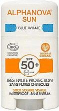 Парфюмерия и Козметика Слънцезащитен стик - Alphanova Sun Blue Whale SPF50+