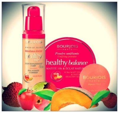 Озаряващ течен фон дьо тен - Bourjois Radiance Reveal Healthy Mix Foundation — снимка N4