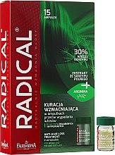 Парфюмерия и Козметика Ампули против косопад за отслабена коса - Farmona Radical Hair Loss