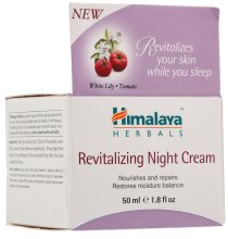 Парфюми, Парфюмерия, козметика Нощен регенериращ крем за лице - Himalaya Herbals Revitalizing Night Cream