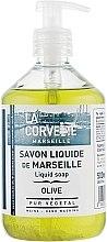 """Парфюмерия и Козметика Течен сапун """"Маслина"""" - La Corvette Liquid Soap"""