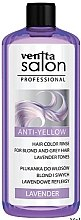 Парфюмерия и Козметика Лилава обливка за изсветлена и побеляла коса - Venita Salon Professional Lavender Anti-Yellow Hair Color Rinse