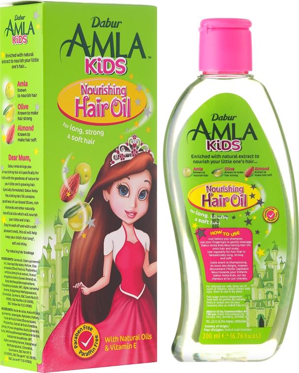 Детско масло за коса - Dabur Amla Kids Nourishing Hair Oil