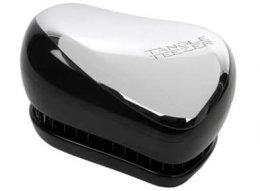 Парфюми, Парфюмерия, козметика Компактна четка за коса - Tangle Teezer Compact Styler Silver
