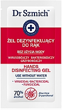 Парфюмерия и Козметика Антибактериален гел за ръце - Dr. Szmich Hands Disinfecting Gel (мостра)