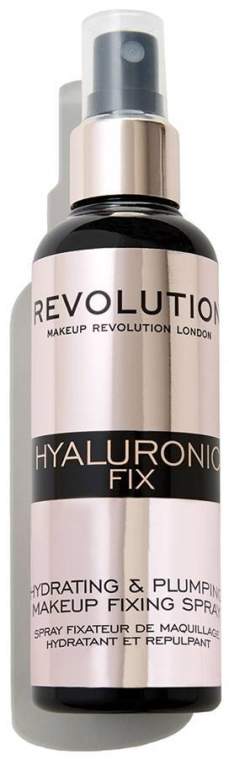 Фиксиращ спрей за грим - Makeup Revolution Hyaluronic Fix Spray