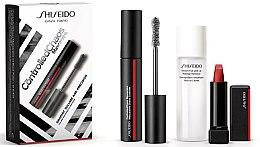 Парфюми, Парфюмерия, козметика Комплект - Shiseido Controlled Chaos MascaraInk (спирала/11,5ml + червило/2,5g + демакиант/30ml)