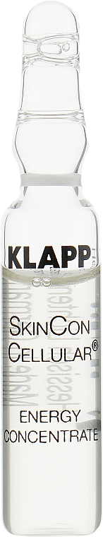 Енергизиращи ампули за лице - Klapp Skin Con Cellular Energy Concentrate — снимка N1
