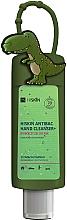 """Парфюмерия и Козметика Антибактериален детски гел за ръце """"Динозавър"""" - HiSkin Antibac Hand Cleanser+"""